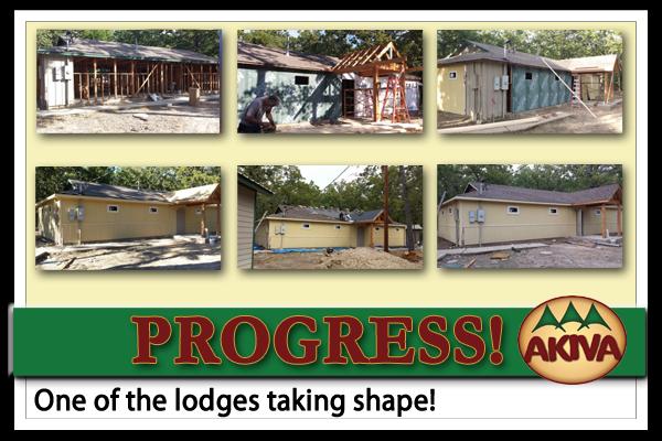 Camp Akiva Lodge - Progress!